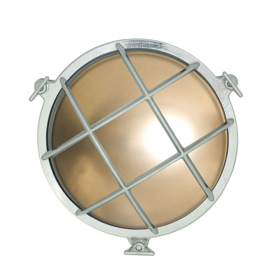 Brass Bulkhead Chrome, Points, 24cm