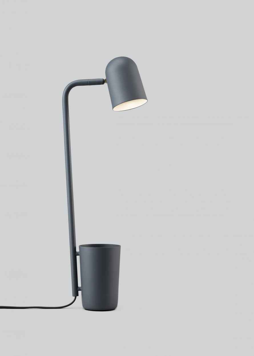 Buddy Table Lamp Dark grey, Type G Plug