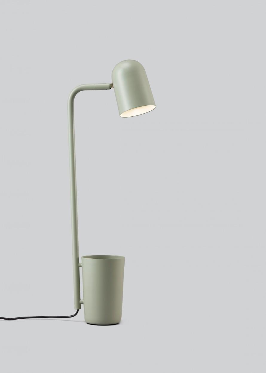 Buddy Table Lamp Green, Type G Plug