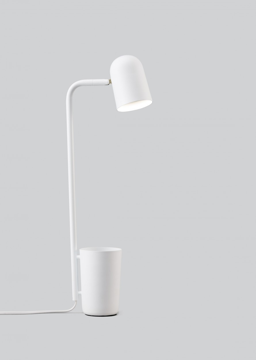Buddy Table Lamp Off White, Type C Plug