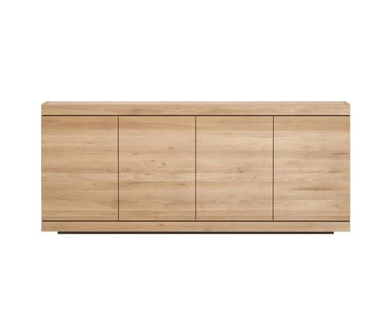 Burger sideboard - 4 doors Oak