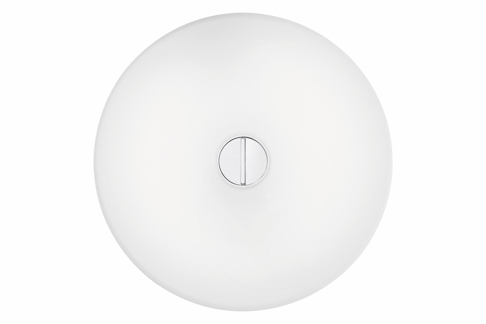 Button Wall Light White
