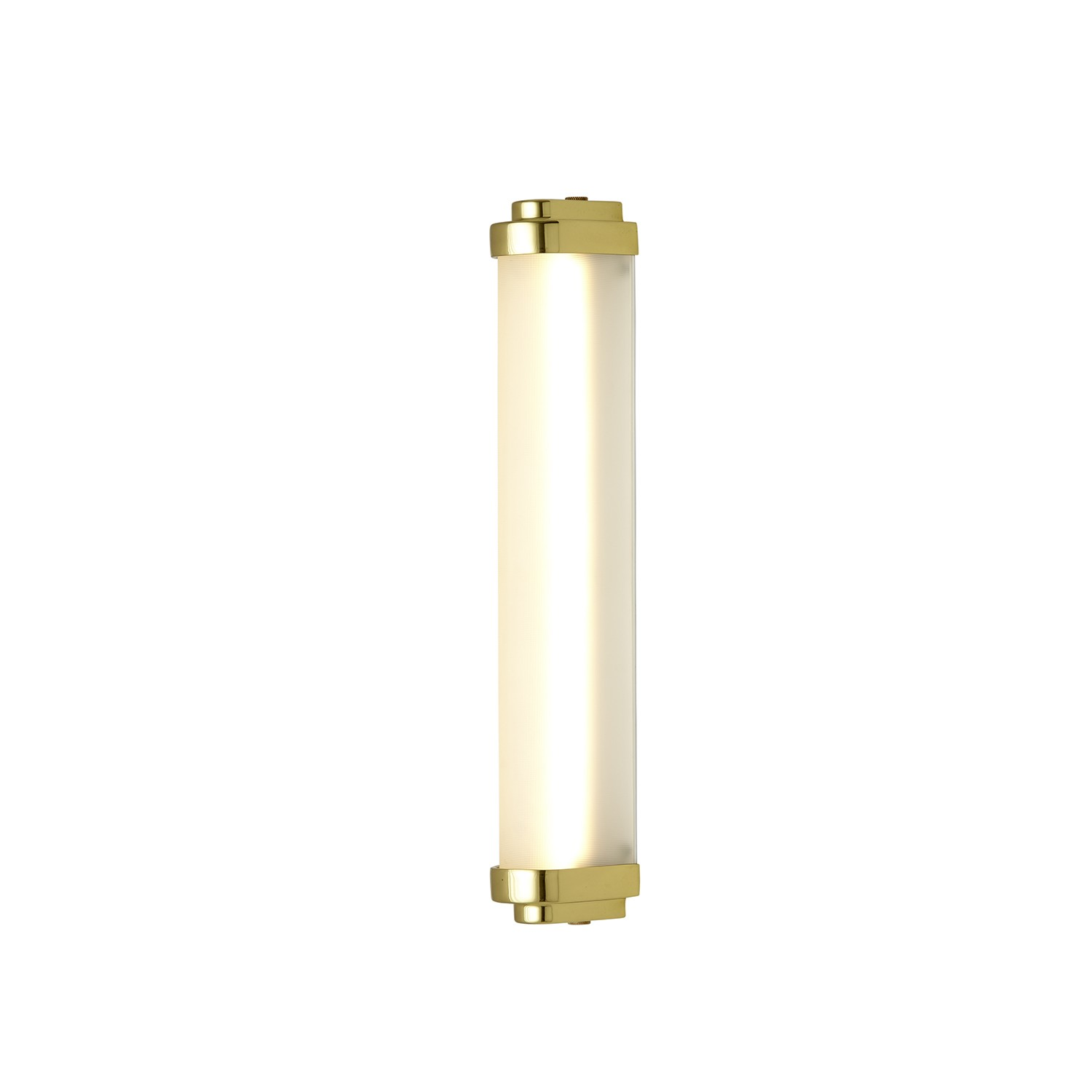 Cabin LED Wall Light Polished Brass, 40cm