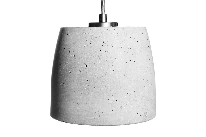 Calix 18 Concrete Pendant Light 100 cm Cable Lenght