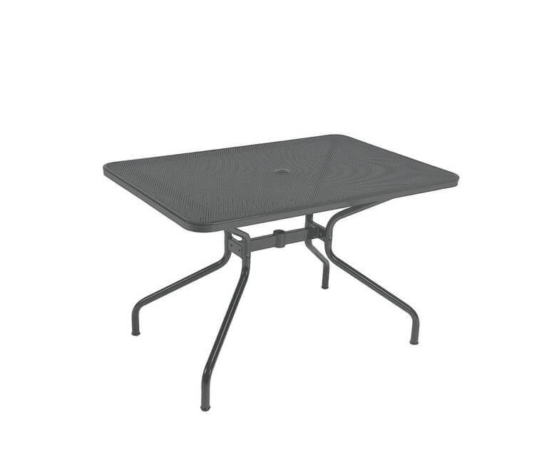 Cambi Rectangular Table Small, Matt White