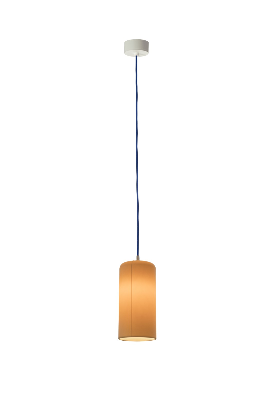 Candle 1 Pendant Light Neutral, Blue