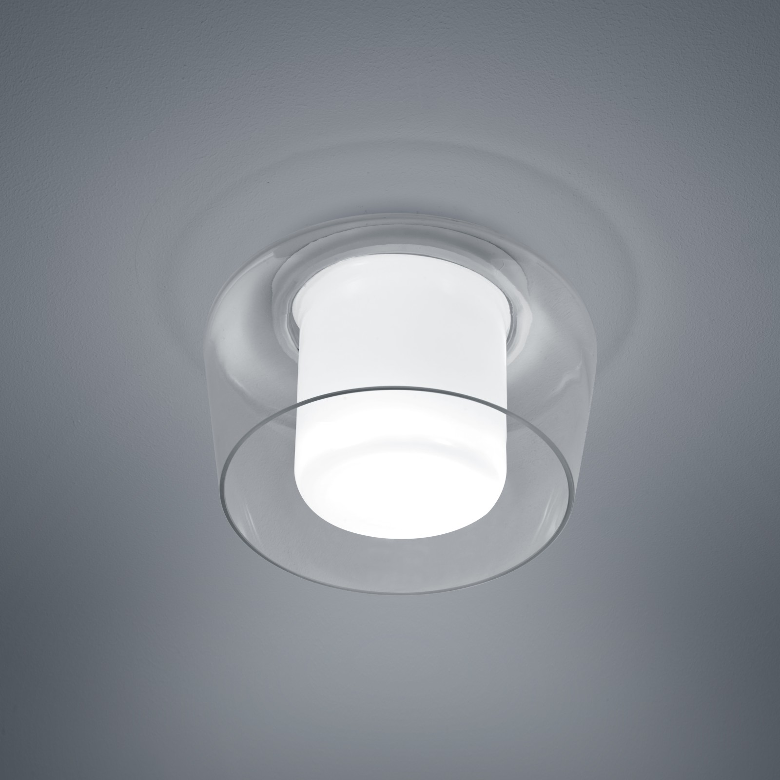Canio Ceiling Light Glass Clear