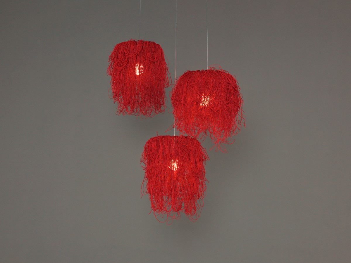 Caos CA04A-3 Chandelier Red