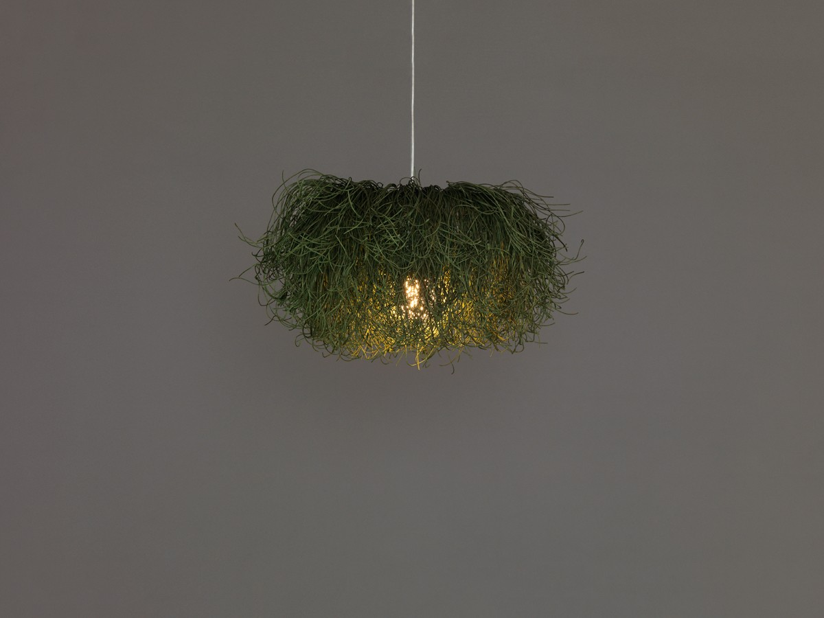 Caos CA04B Pendant Lamp Gold Yellow, Transparent Cable, Yes