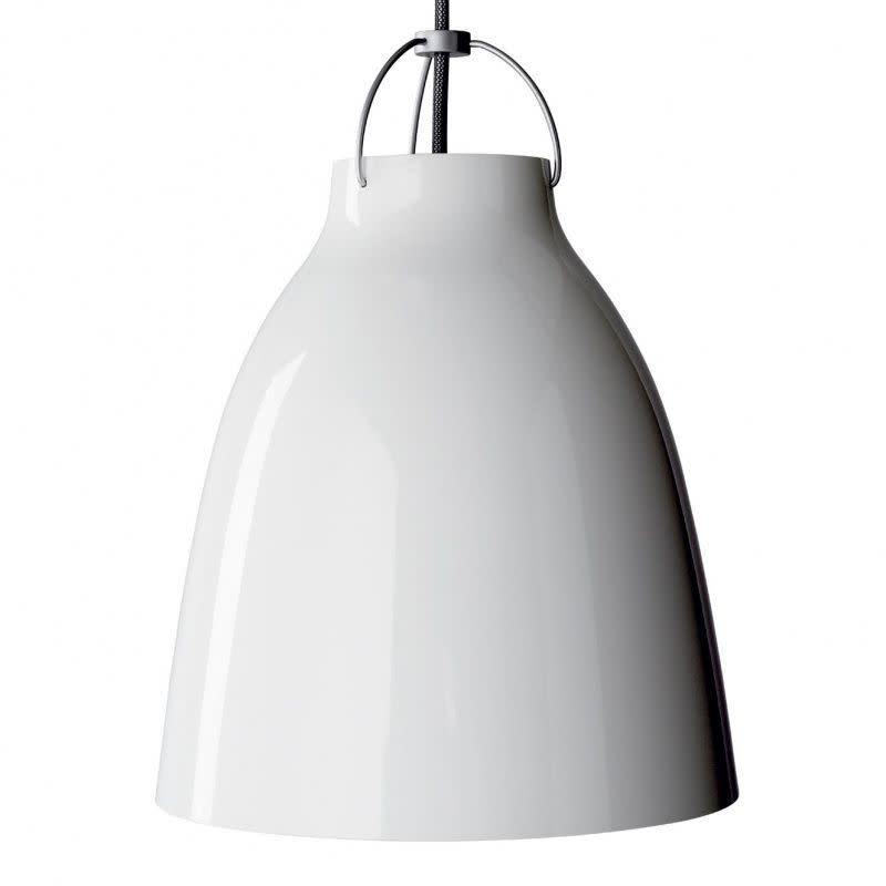 Caravaggio Pendant Light White, P3 Extra Large, 6 m cord