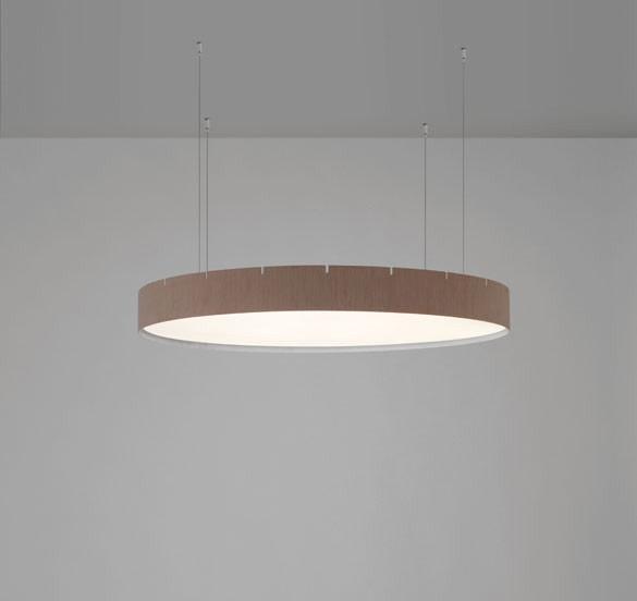 Castle Suspension Lamp 90, Oak