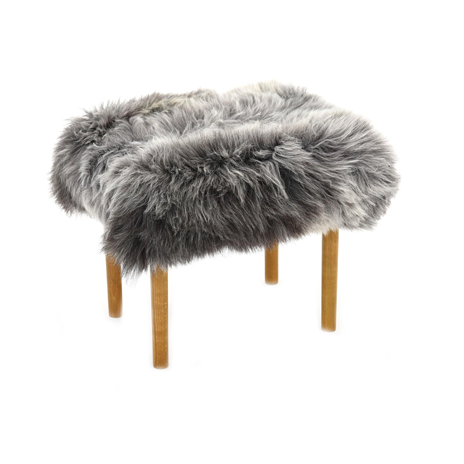Ceri Sheepskin Footstool Rare Breed