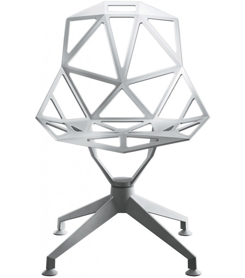 Chair One - 4 Star White, Swivel Base