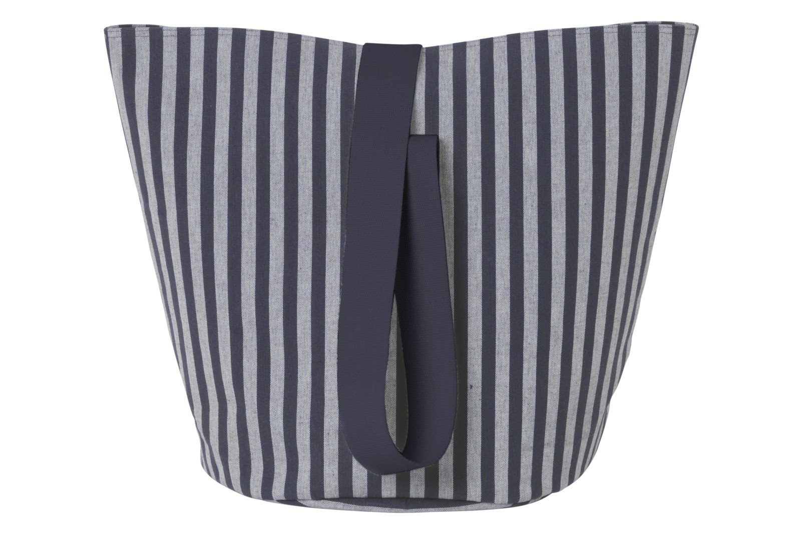 Chambray Basket - Set of 4 Striped Pattern, Medium