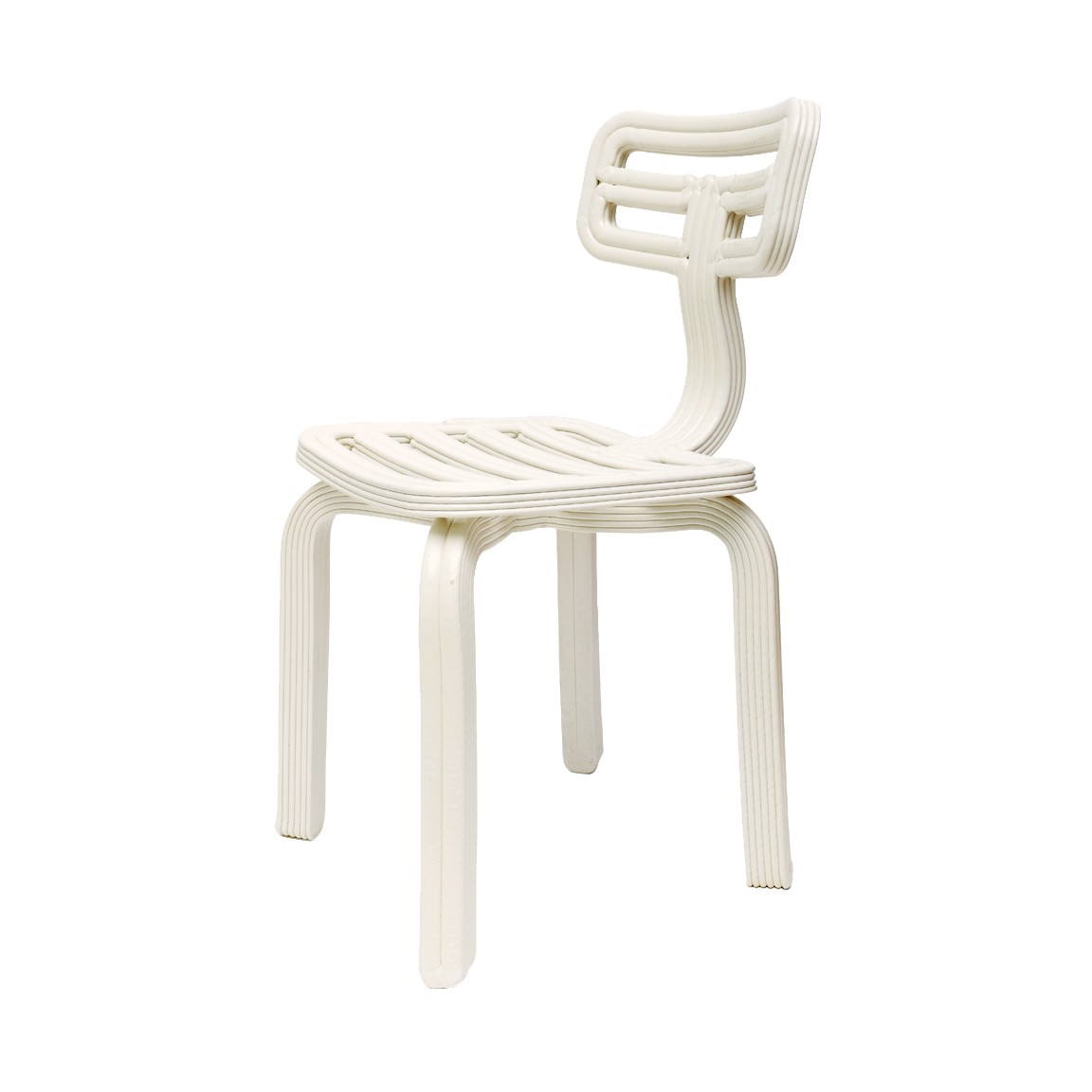 Chubby Dining Chair White