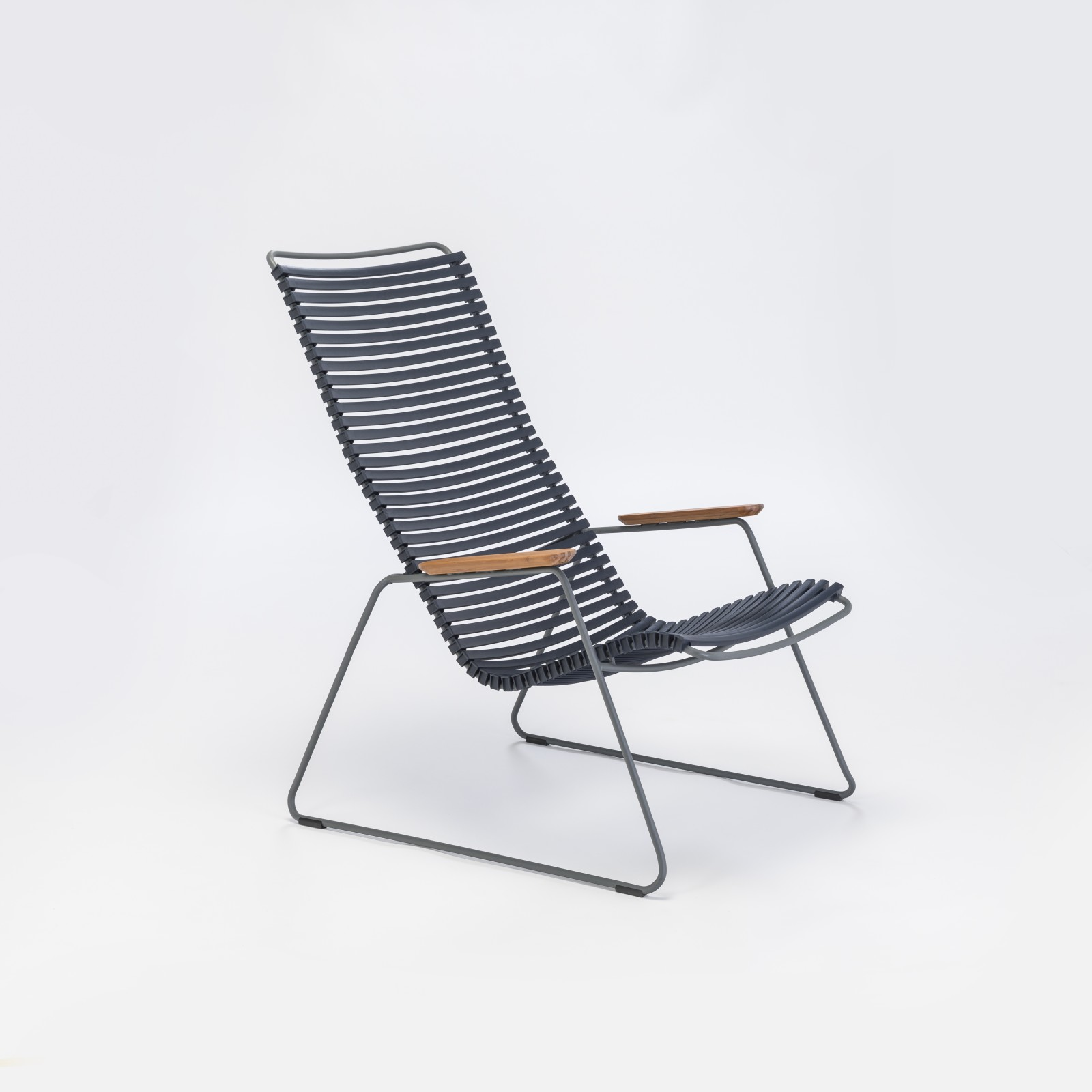 Click Lounge Chair Dark Blue