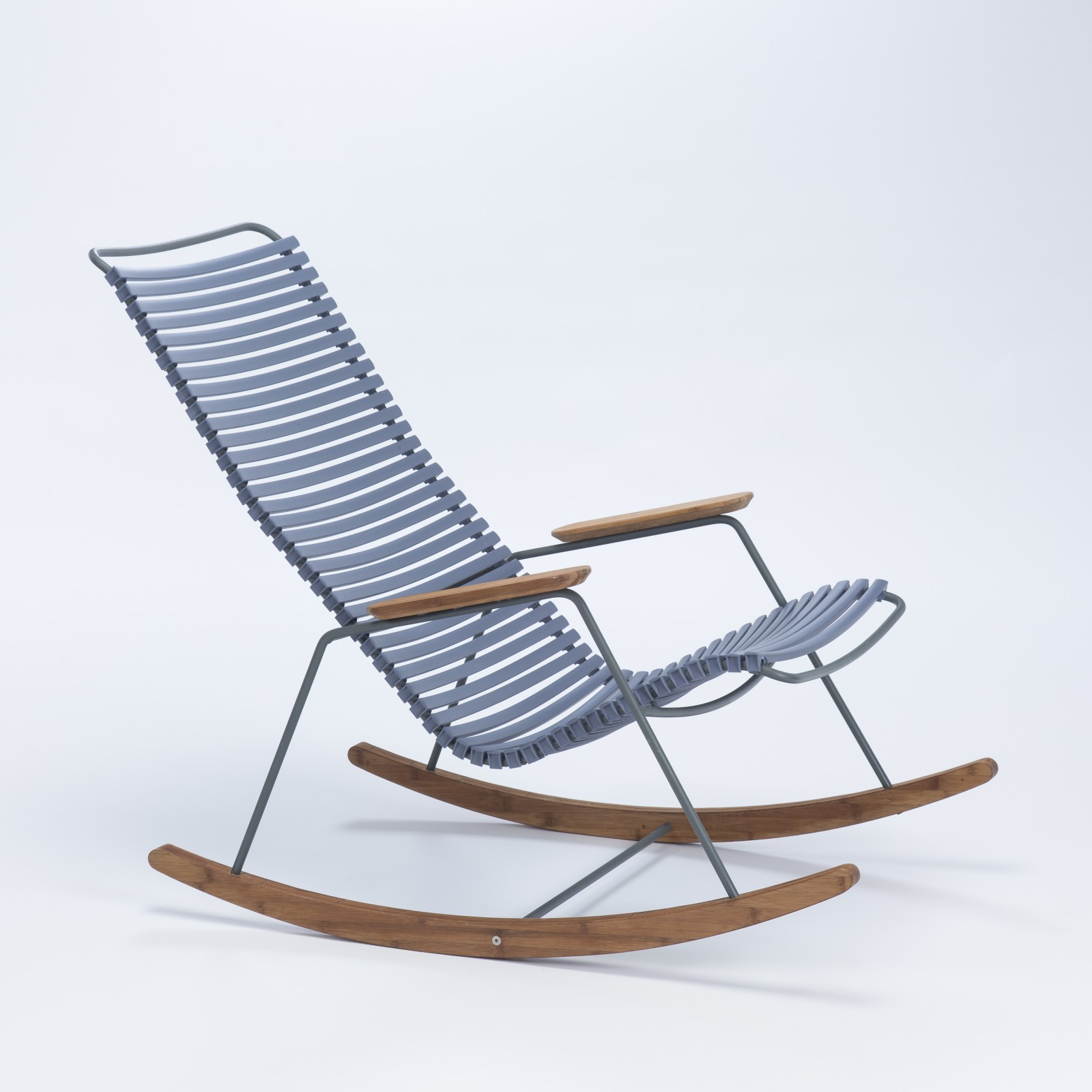 Click Rocking Chair Dark Blue