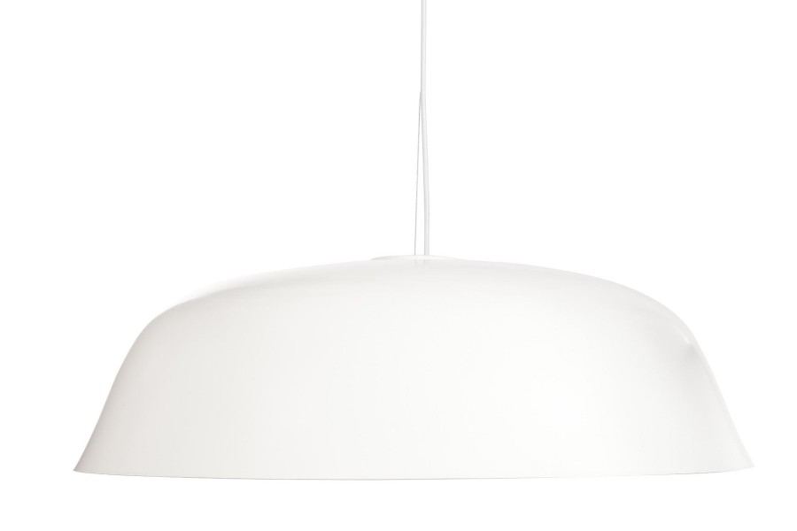 Cloche Three Pendant Light White
