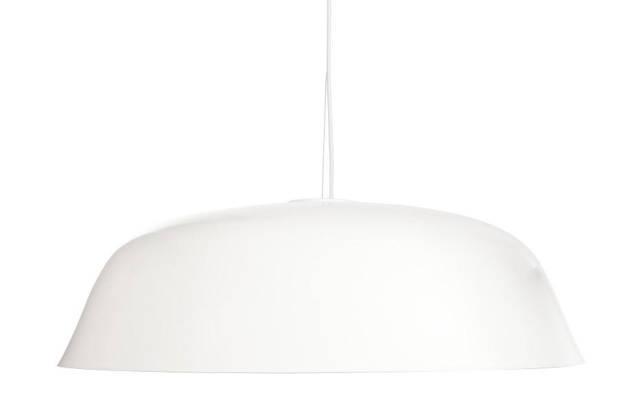 Cloche Three Pendant Light White