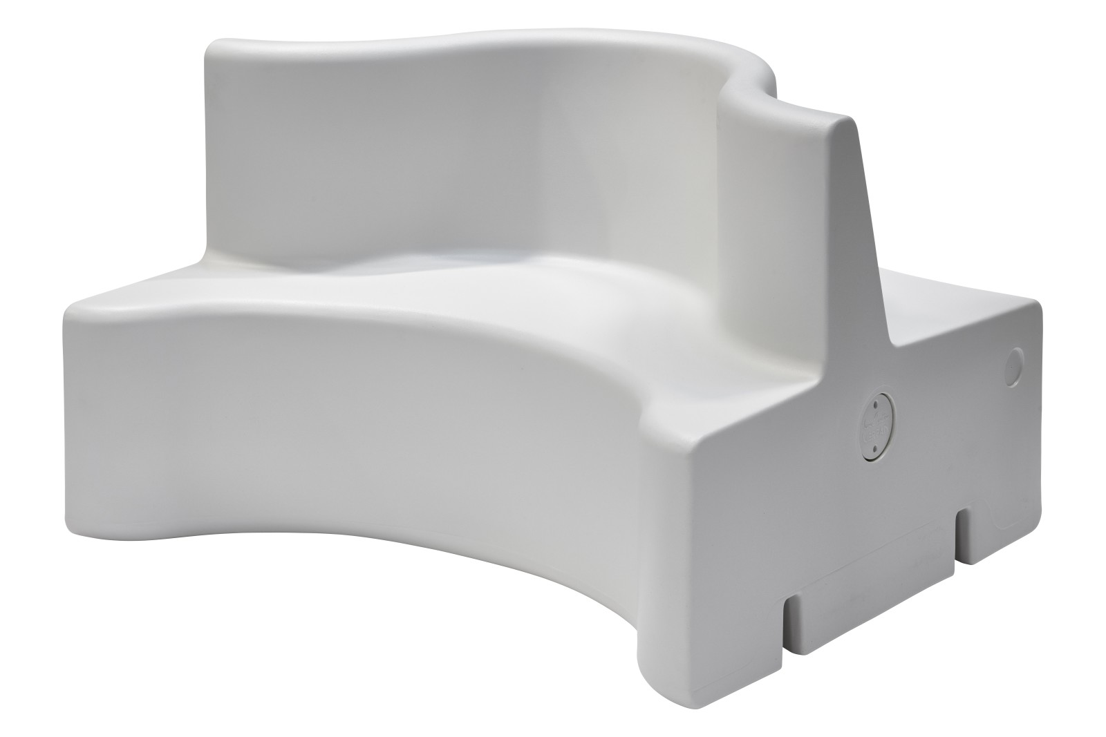 Cloverleaf In & Outdoor Sofa - Extension Unit 27 Opal White thumbnail