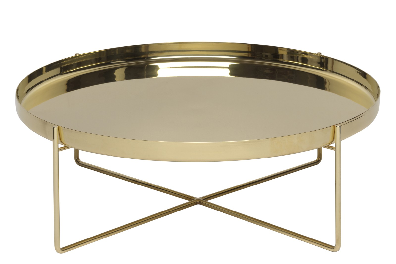 CM05 Habibi Side Table Brass, Medium