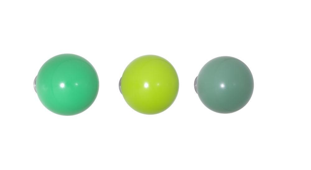 Coat Dots Green