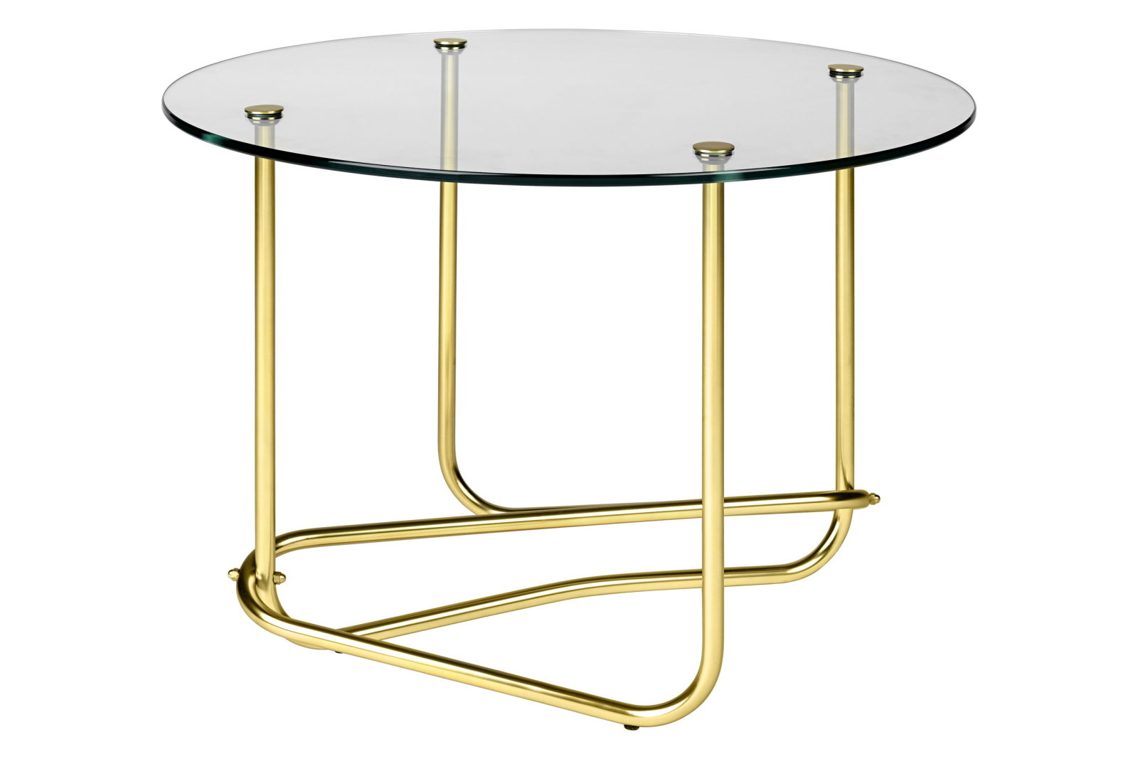 Matégot Coffee Table Clear Glass