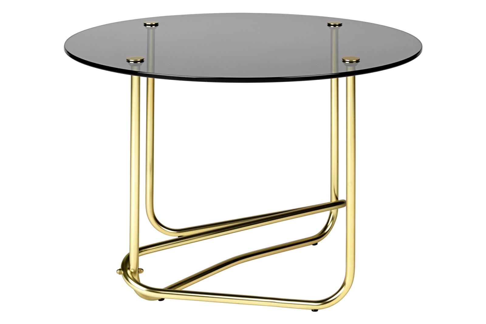 Matégot Coffee Table Smoked Glass