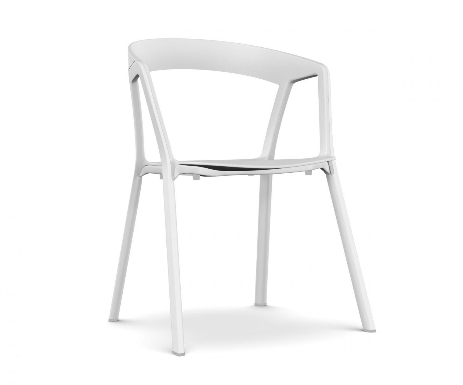 Compas Armchair white