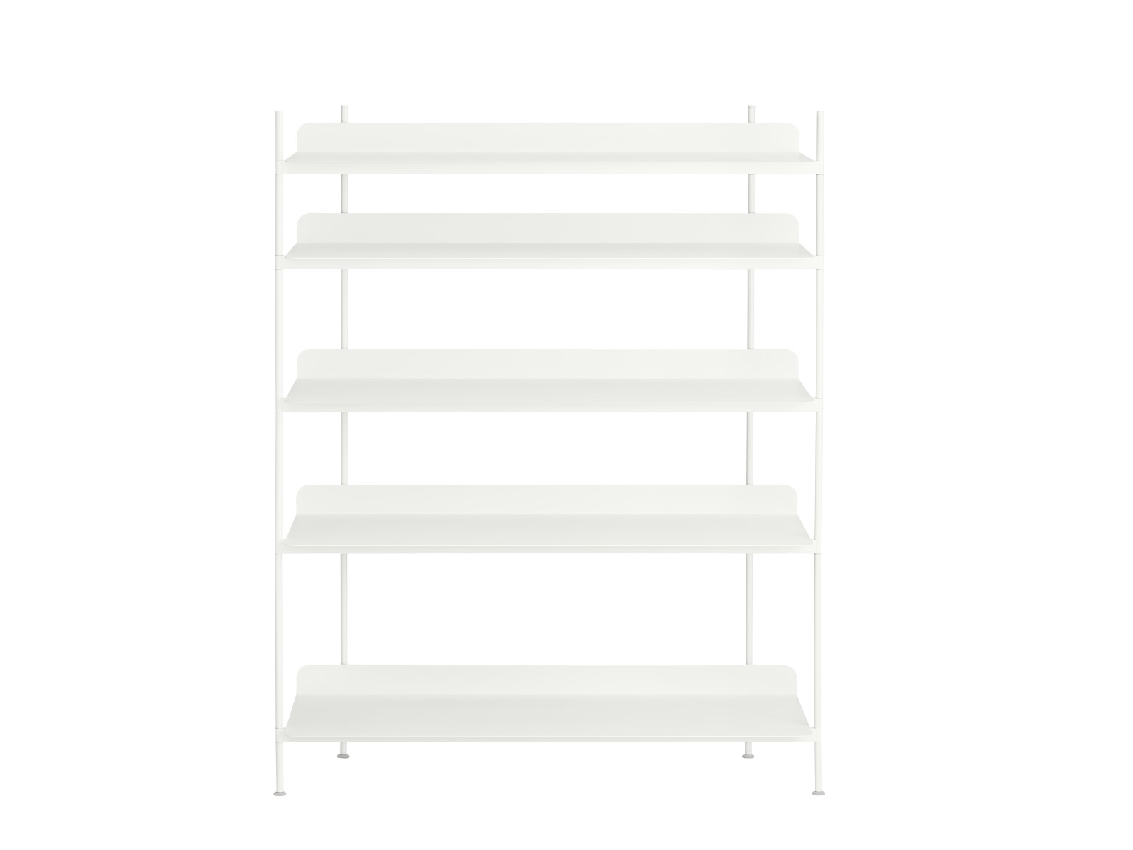 Compile Shelving System Configuration 3, White
