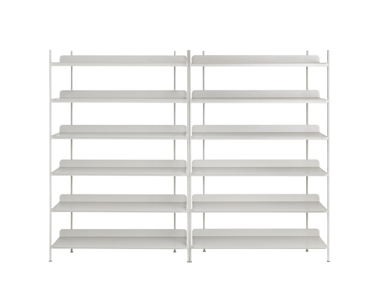 Compile Shelving System Configuration 8, Grey