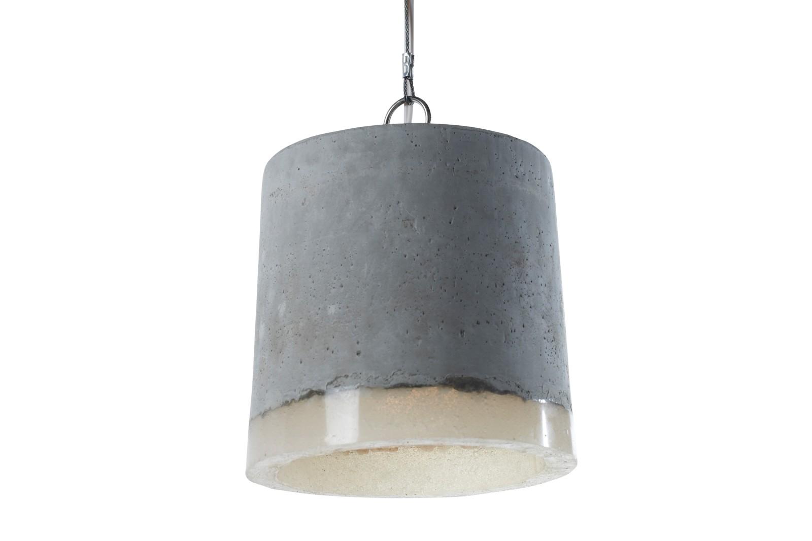 Concrete Pendant Light Large