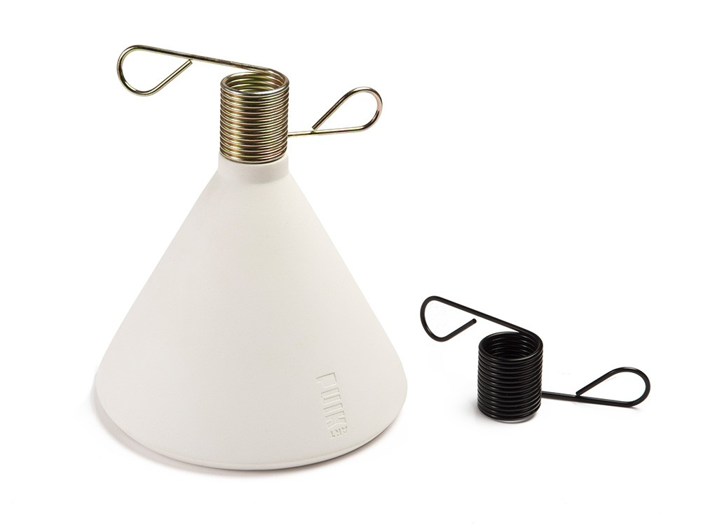 Conic - Candle Holder WHITE