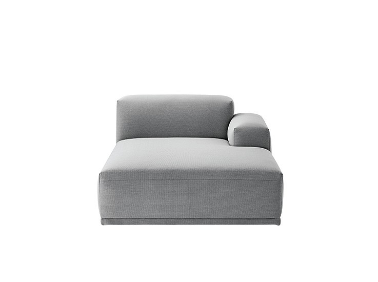 Connect Modular Sofa - Right Armrest Lounge Remix 123