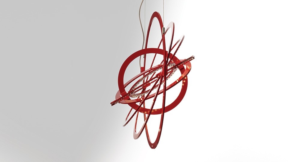 Copernico 500 Pendant Light Red