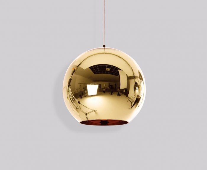 Copper Bronze Pendant Light 45cm