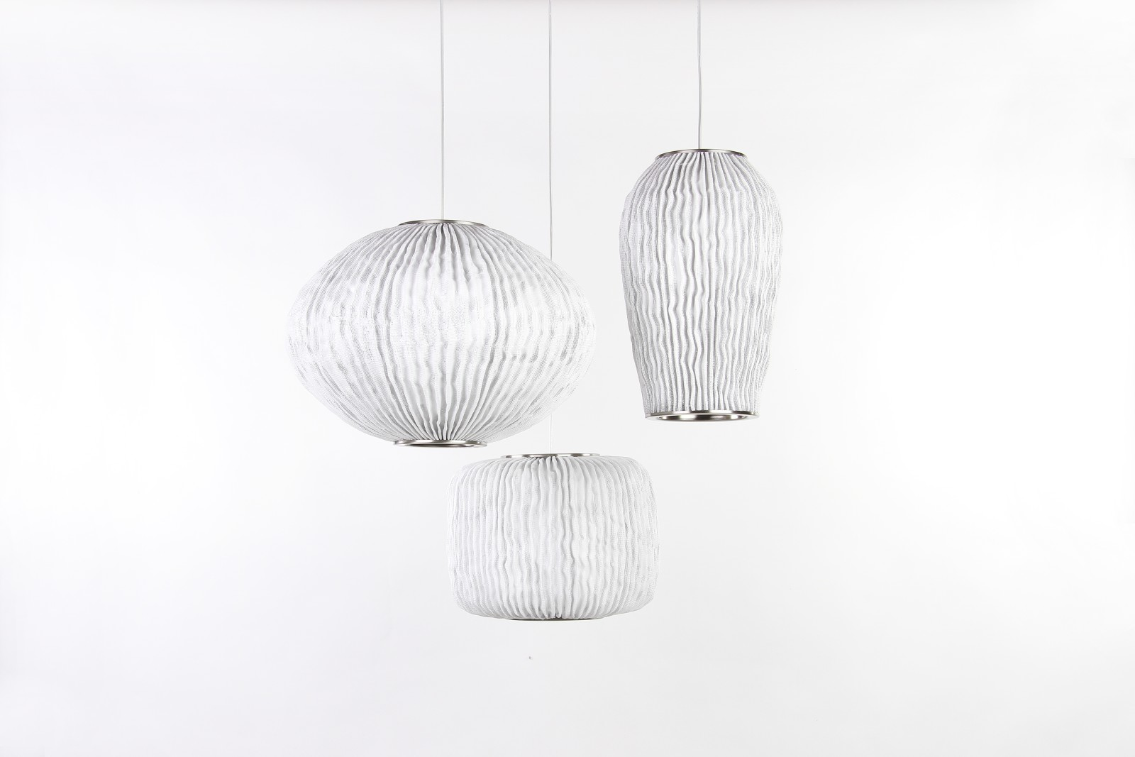 Coral CO04-3 Chandelier White