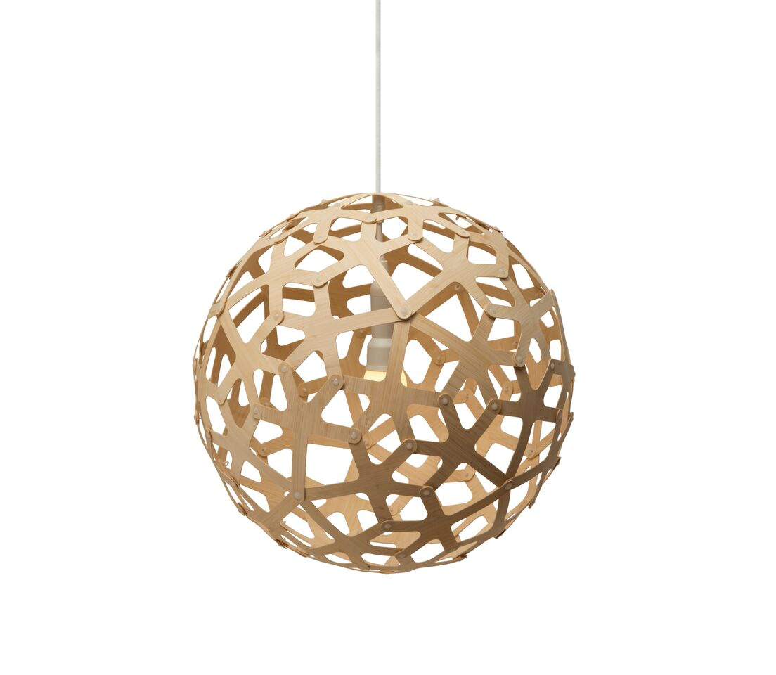 Coral Pendant Light Natural, 40
