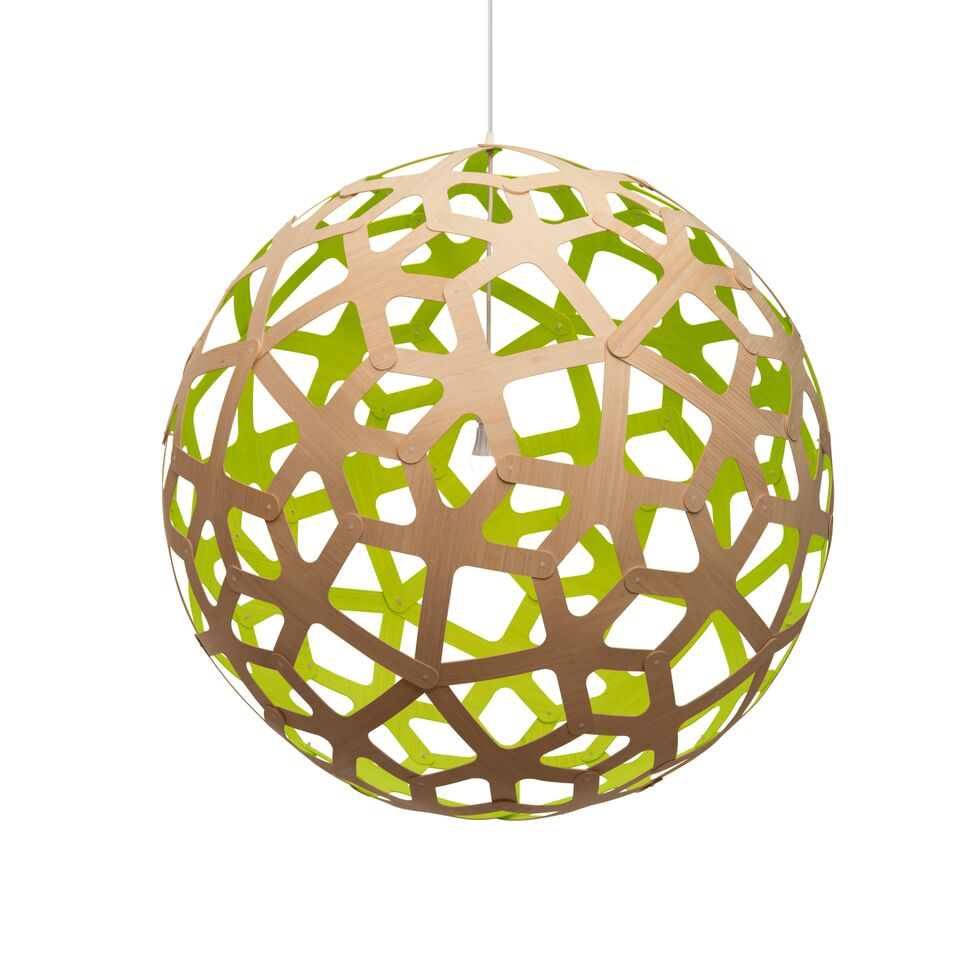 Coral Pendant Light Lime, 80