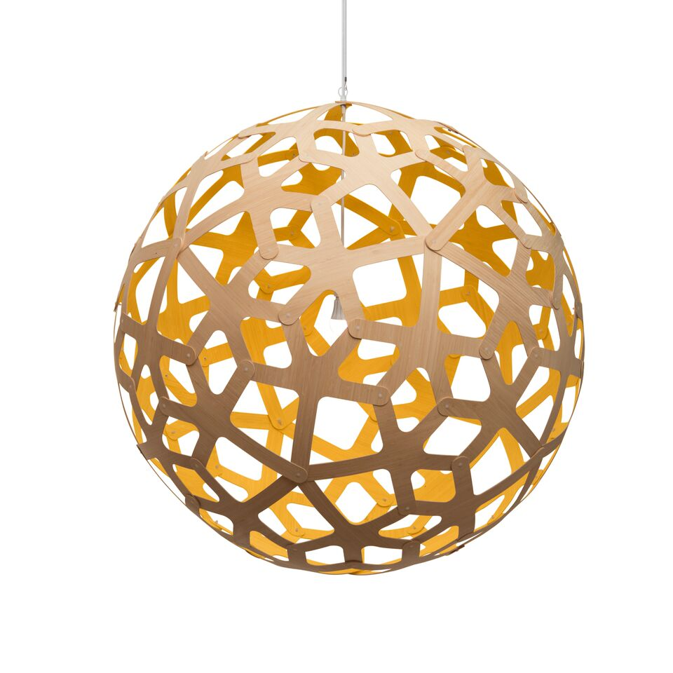 Coral Pendant Light Yellow, 100