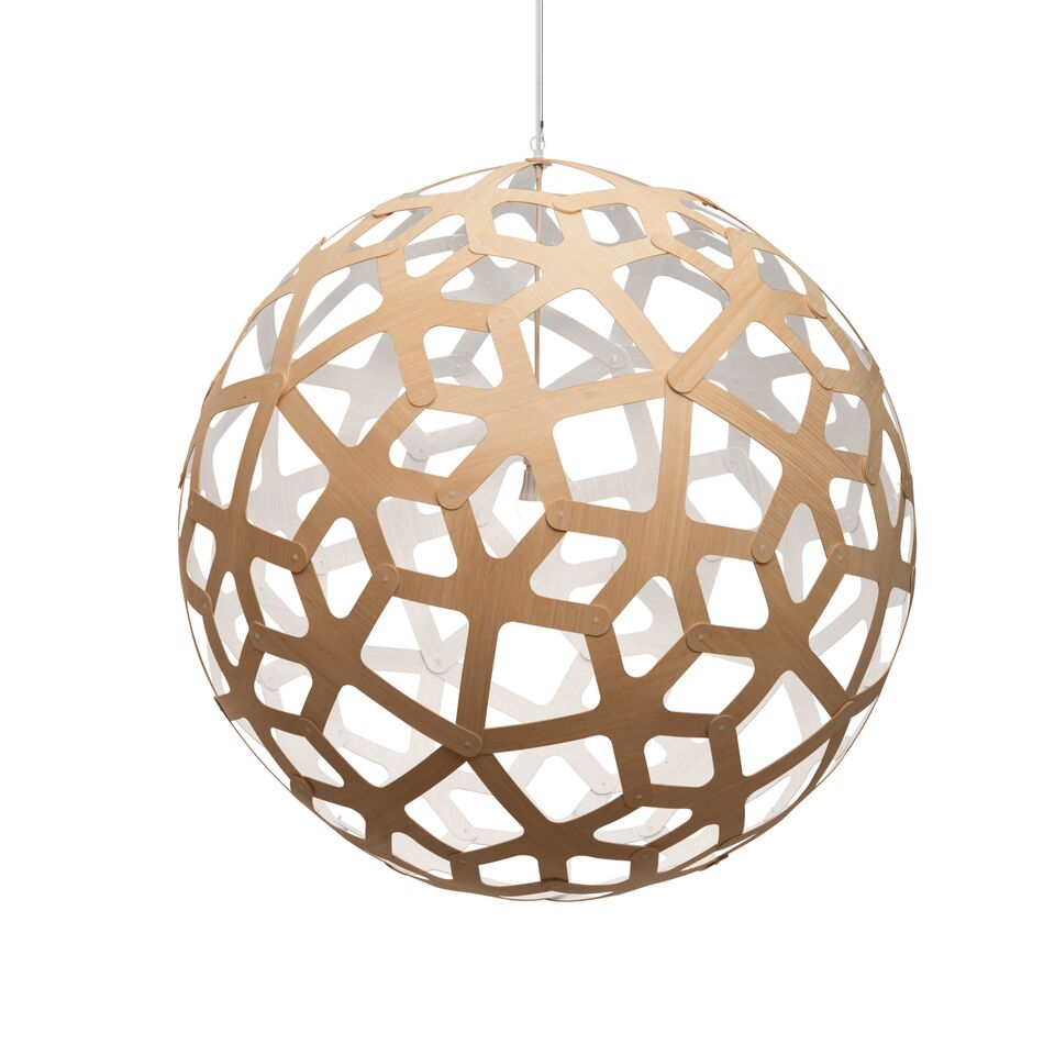 Coral Pendant Light White 1 Side, 100
