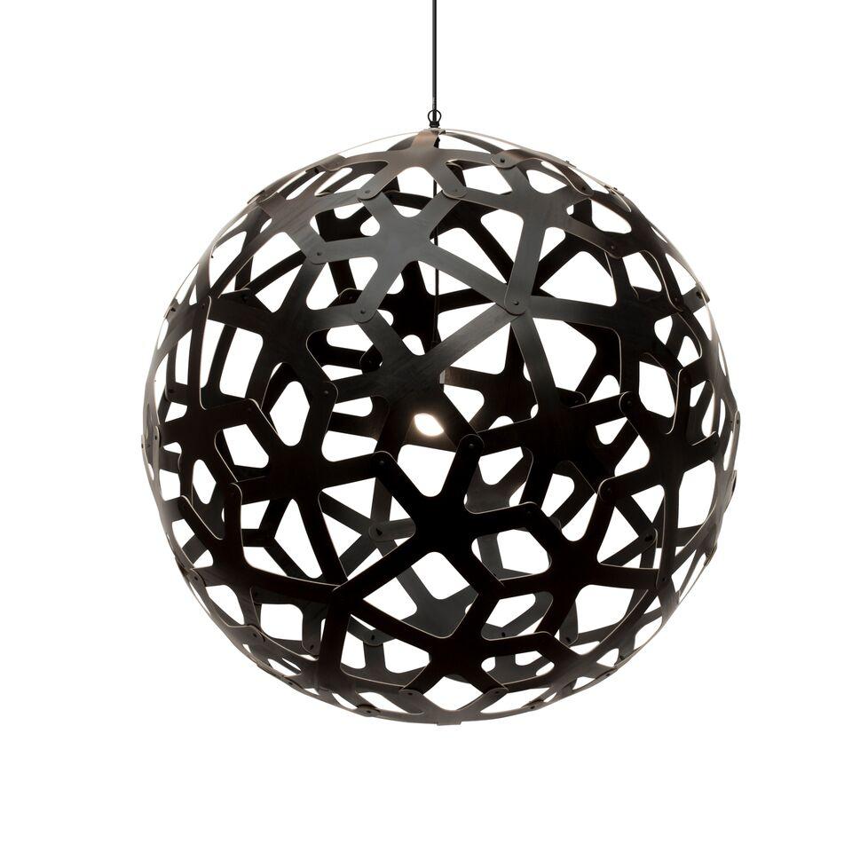 Coral Pendant Light Black 2 Sides, 100