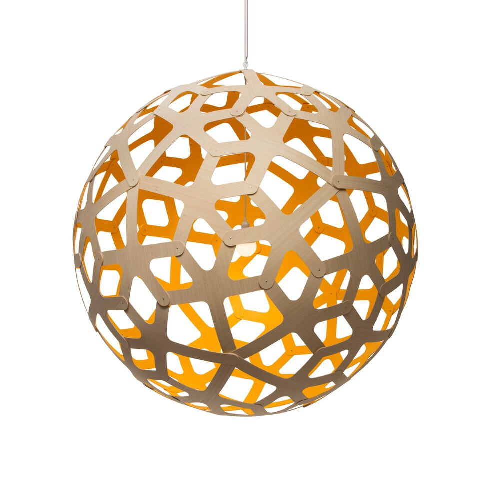 Coral Pendant Light Yellow, 160