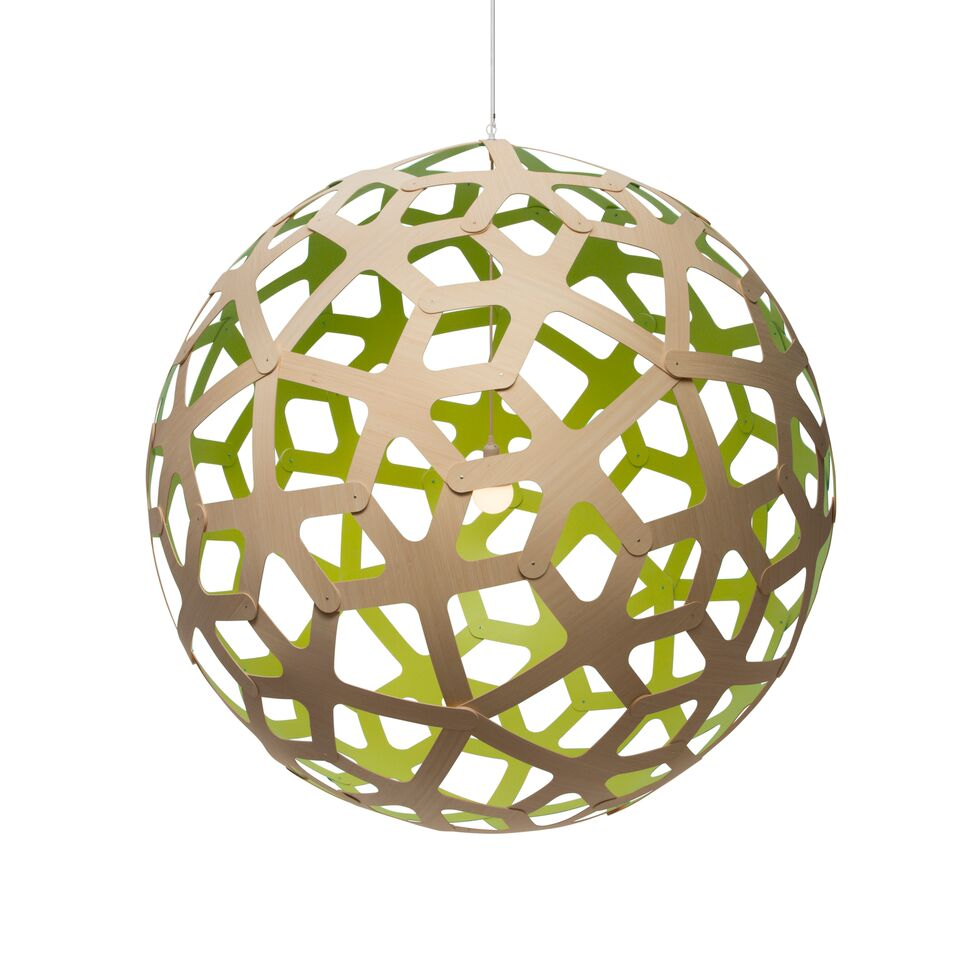 Coral Pendant Light Lime, 160