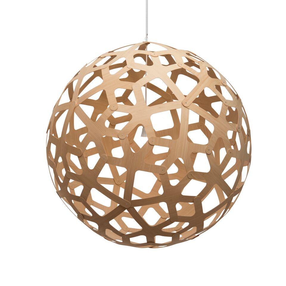 Coral Pendant Light Natural, 160