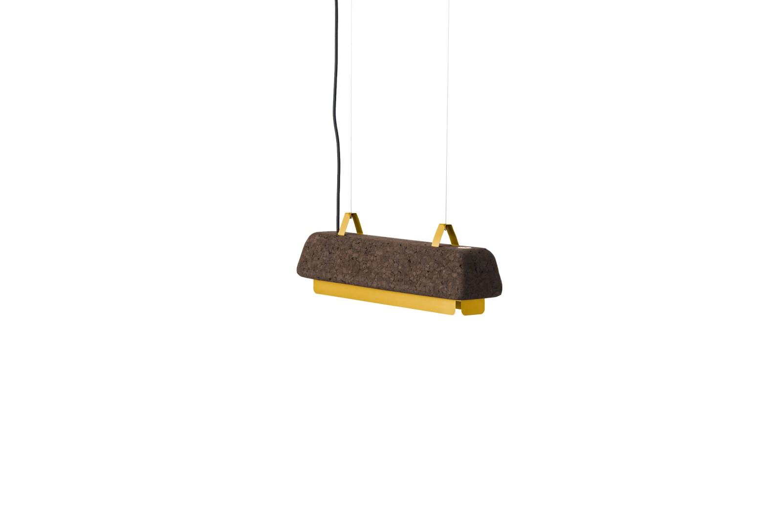 Cortina Small Pendant Lamp Dry yellow