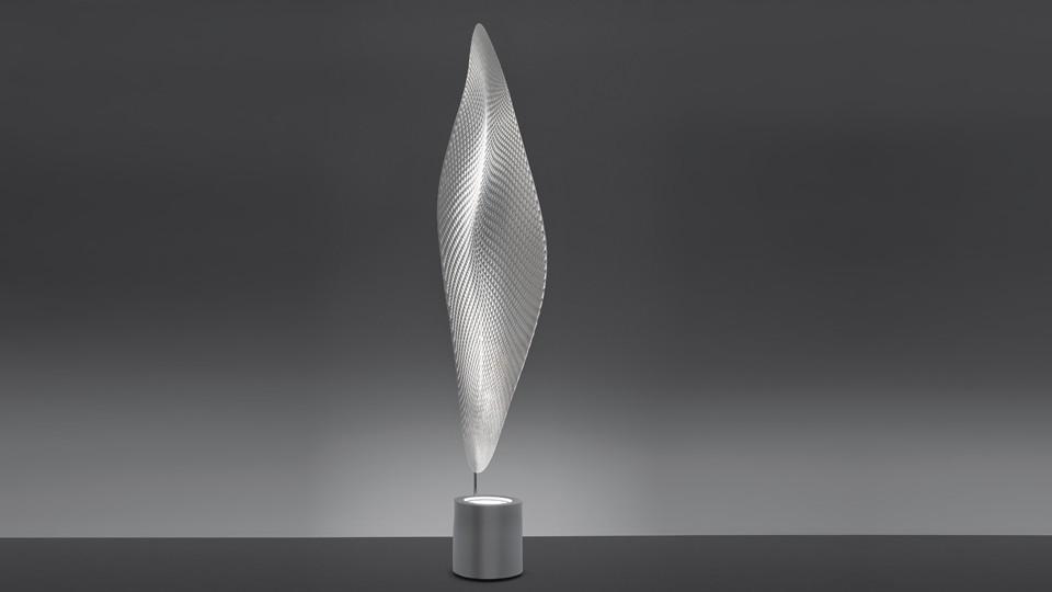 Cosmic Leaf Floor Lamp Transparent
