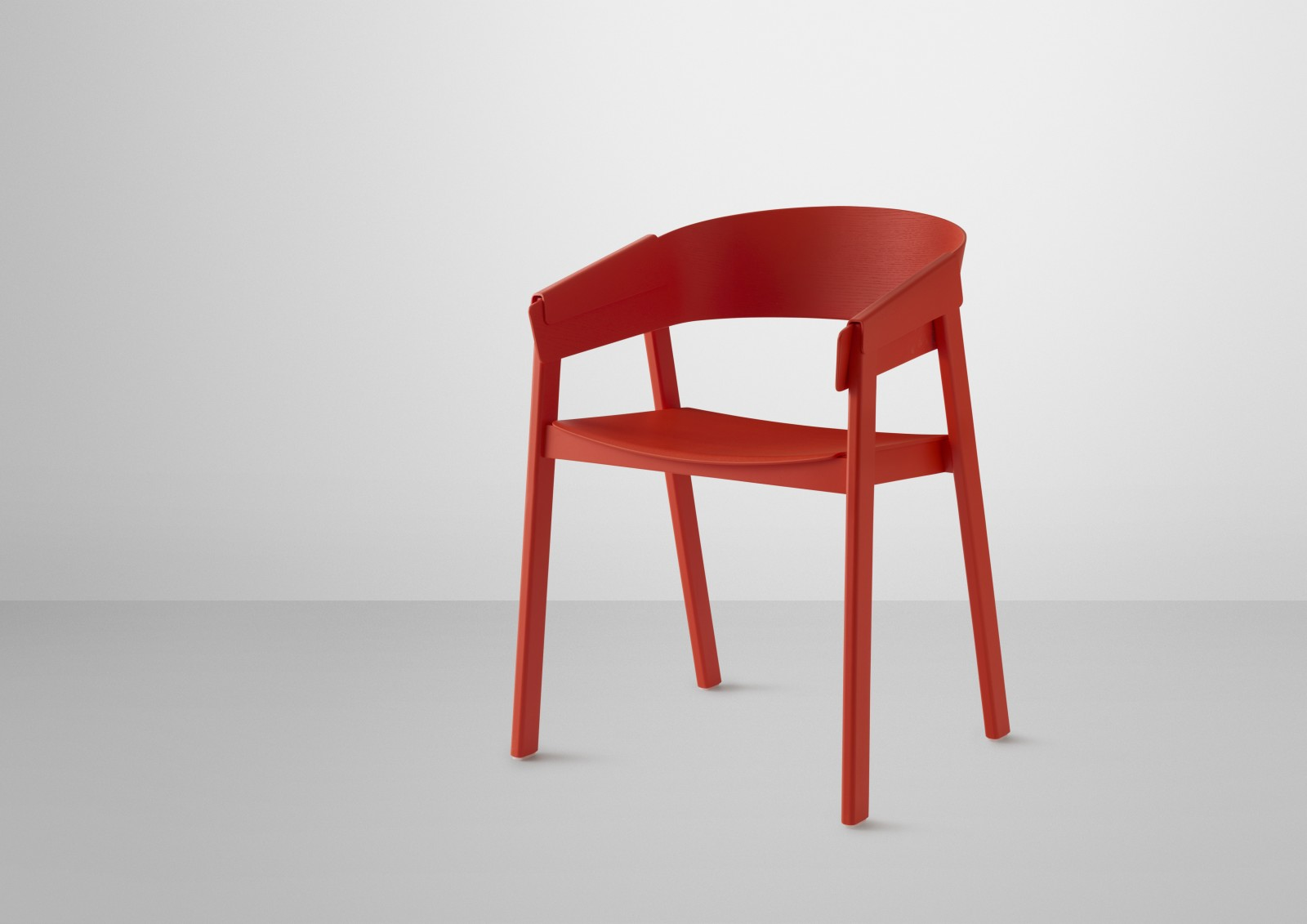 Cover Chair Wood Seat Red