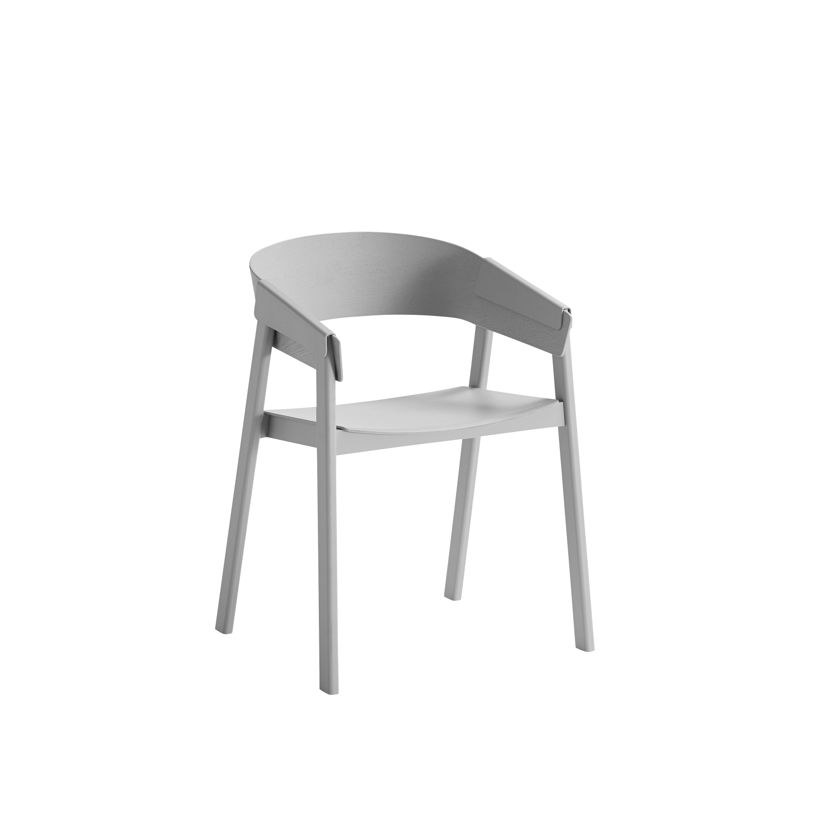 Cover Chair Wood Seat Grey