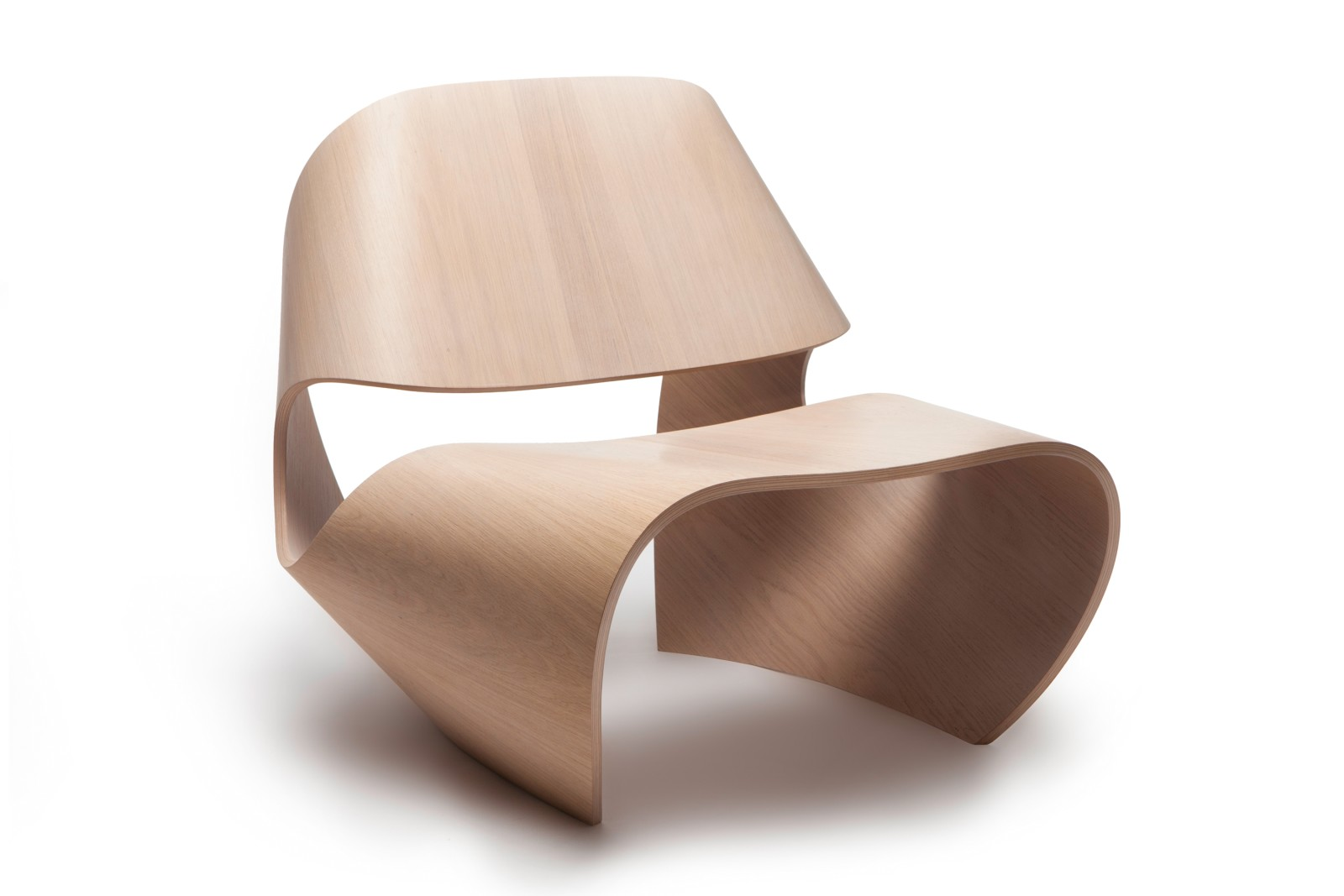 Cowrie Occasional Chair Oak